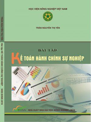 Bài tập kế toán hành chính sự nghiệp